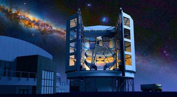 Самый большой телескоп в мире поможет рассказать о происхождении Вселенной