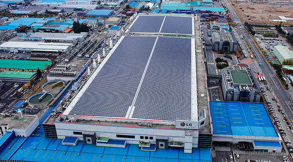 LG солнечные батареи