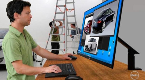 Dell sleek 30 inch OLED