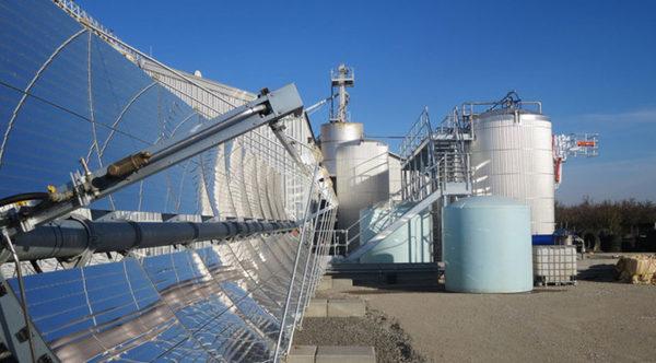 Первый в мире завод по производству биотоплива питается от возобновляемых источников энергии