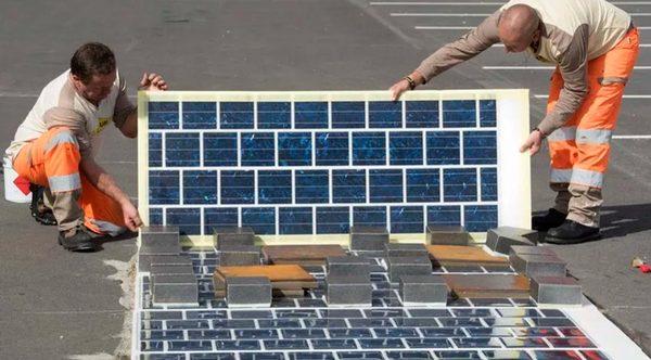Солнечные панели Wattway