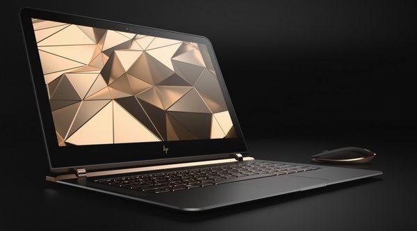 HP представила самый тонкий в мире ноутбук