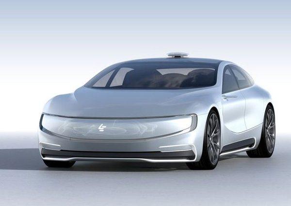 Китайская компания LeEco анонсировала собственный самоуправляемый электромобиль LeSEE