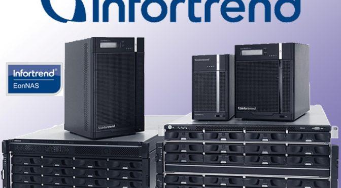 Новые системы NAS EonStor CS представит Infortrend на выставке SС 19