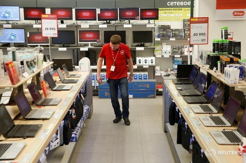 Группа «М.Видео-Эльдорадо» сообщила о росте продаж в апреле ноутбуков в России почти на 70%