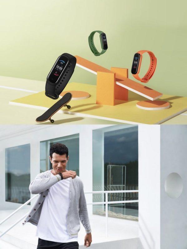 Фитнес-браслет Amazfit Band 5 выводит на рынок компания Huami