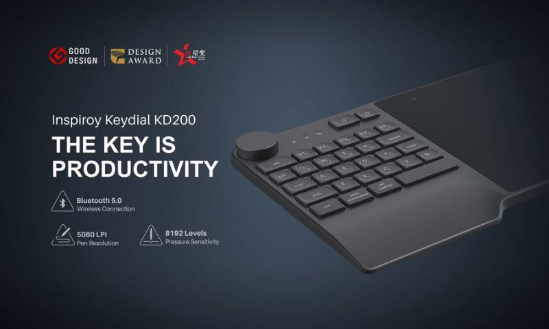 Графический планшет KD200 – принципиально новое решение Huion