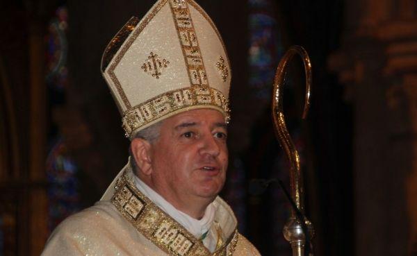 Messe anniversaire de l'ordination épiscopale de Monseigneur Aillet