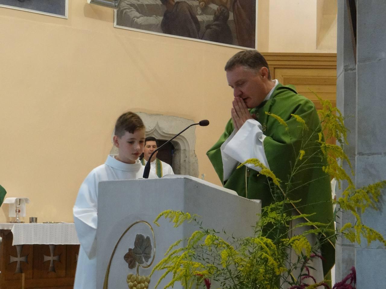 Messe d'Installation de l'abbé Benoît Martel curé de Jurançon