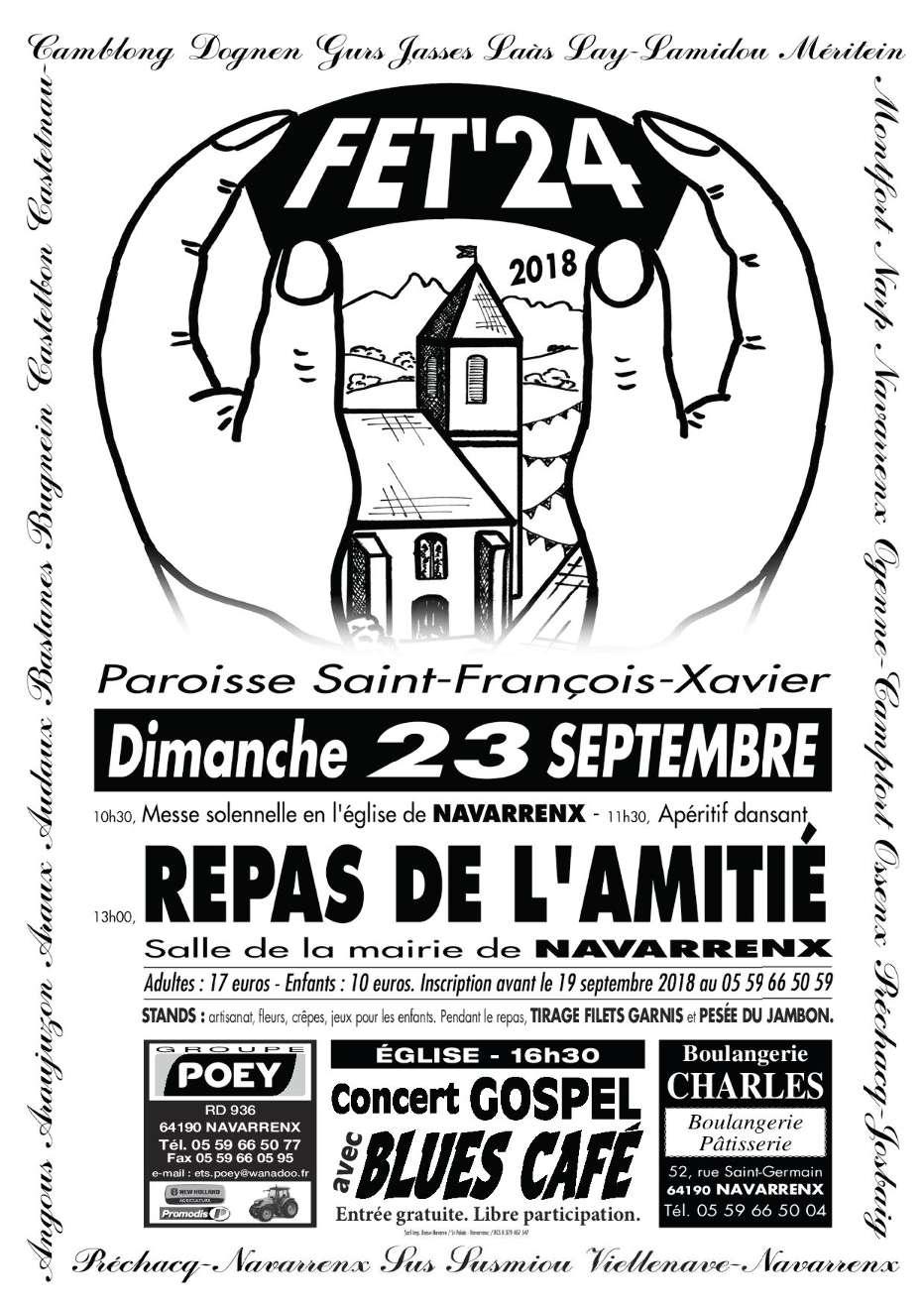 Fêt'24 - Kermesse dimanche 23 septembre 2018