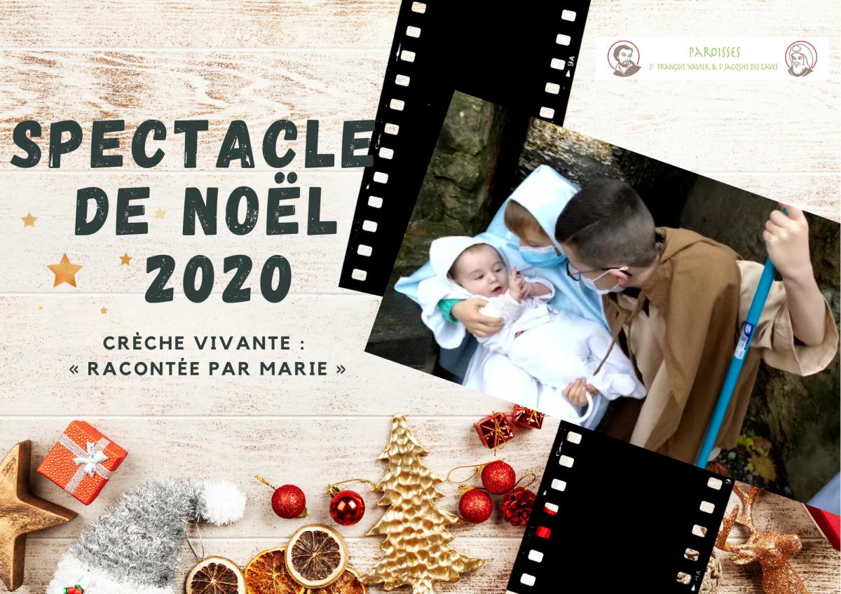 Spectacle de Noël 2020