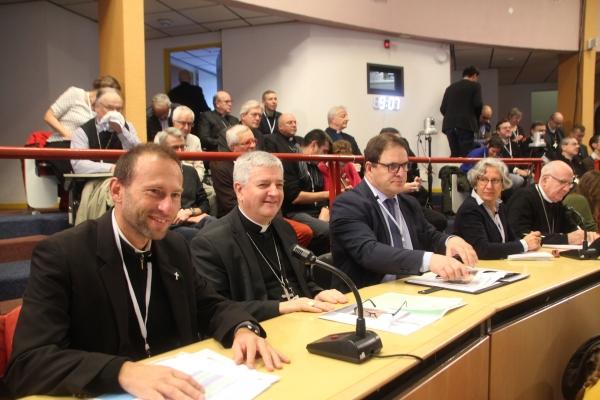 En direct de Lourdes pour l'Assemblée plénière des évêques de France