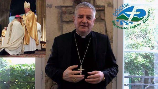 Monseigneur Aillet vous invite à la messe d'action de grâce pour son 10ème anniversaire d'épiscopat