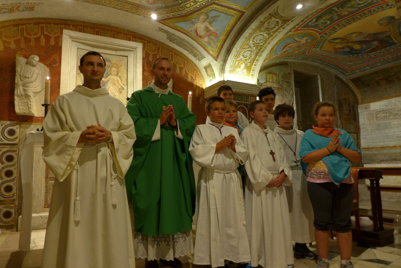 Pèlerinage des Enfants de Choeur à Rome