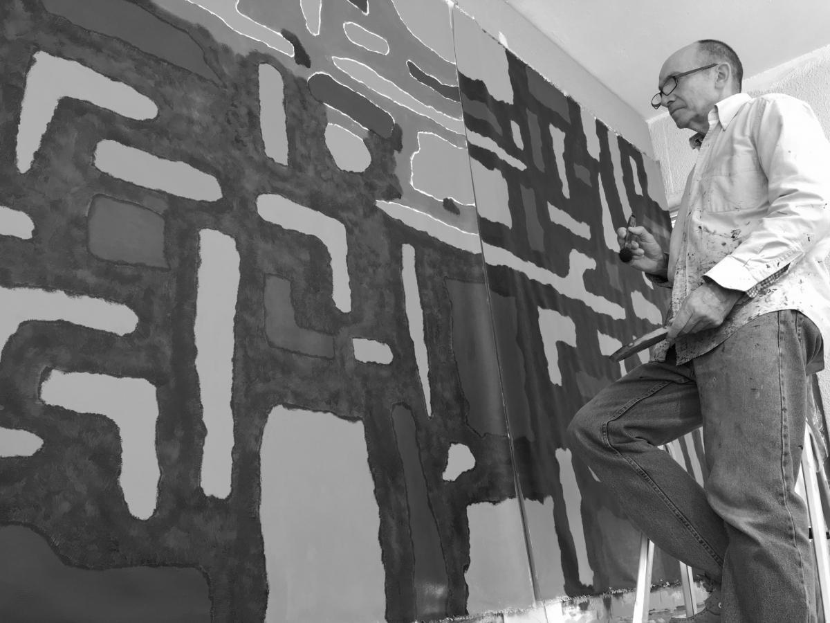 Les oeuvres de Gilles Bailac à la Crypte Sainte-Eugénie à Biarritz