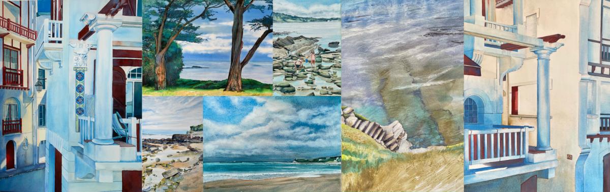 De Saint-Jean-de-Luz à Bayonne : Bleu la galerie et la Galerie des Corsaires