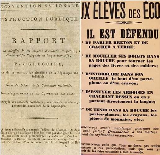Langues régionales : quand la Révolution s'engageait à « anéantir le patois »