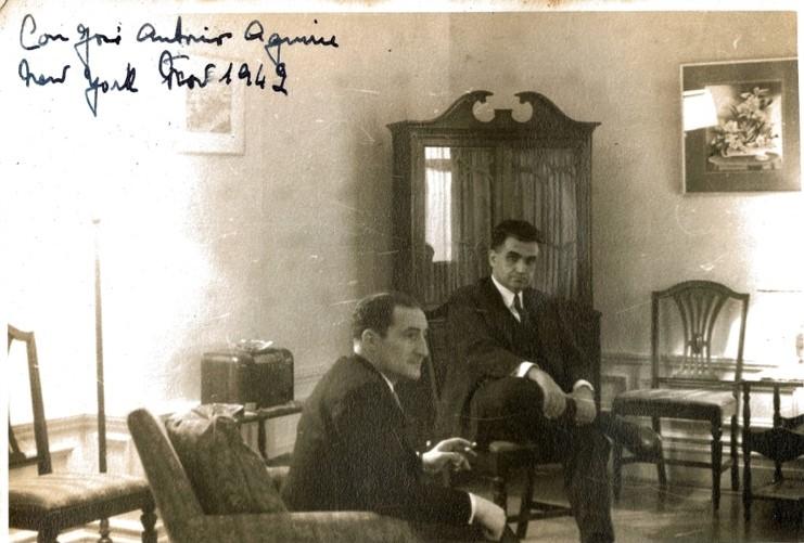zTradition1 Manuel de Ynchausti avec le lehendakari Aguirre, 1942.jpg