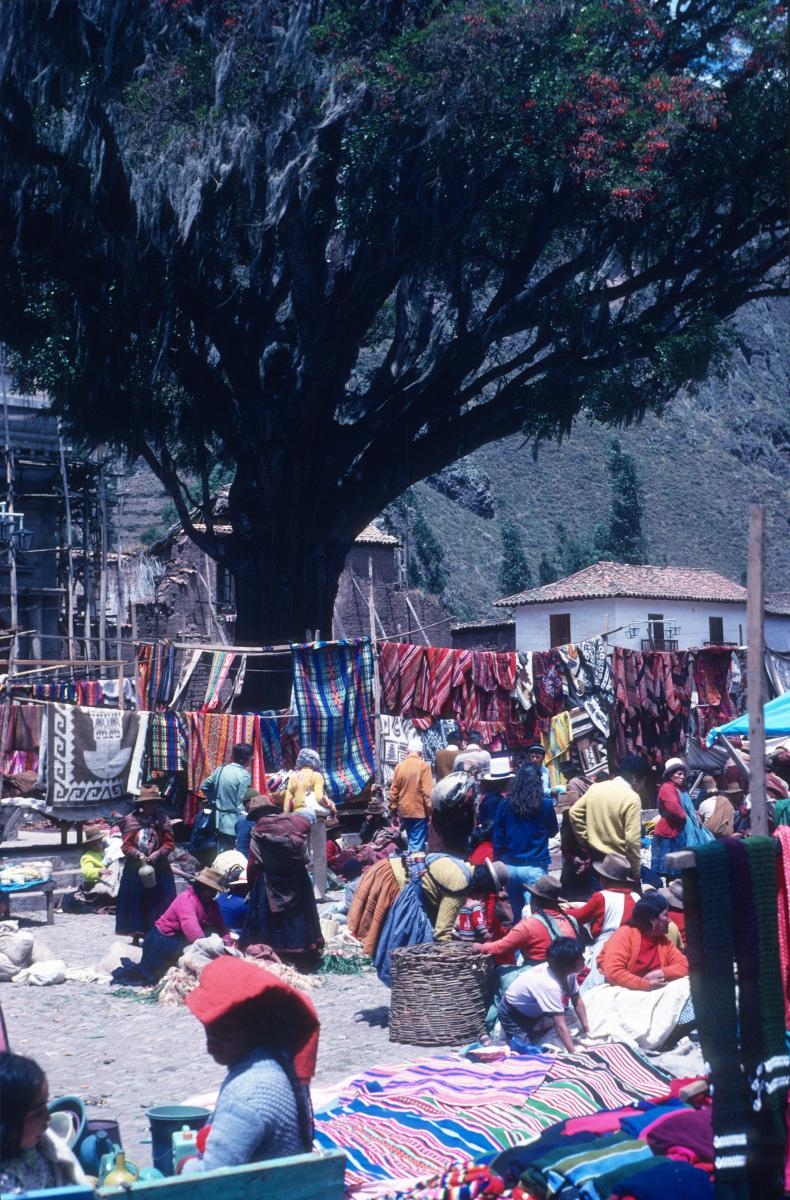 Notre globe-trotter Manex Barace au Pérou