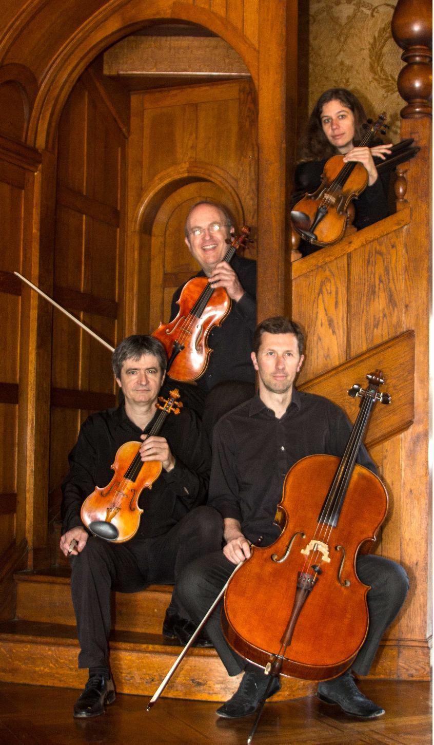 Quatuor Arnaga chez Rostand : Debussy et Mendelssohn à l'honneur