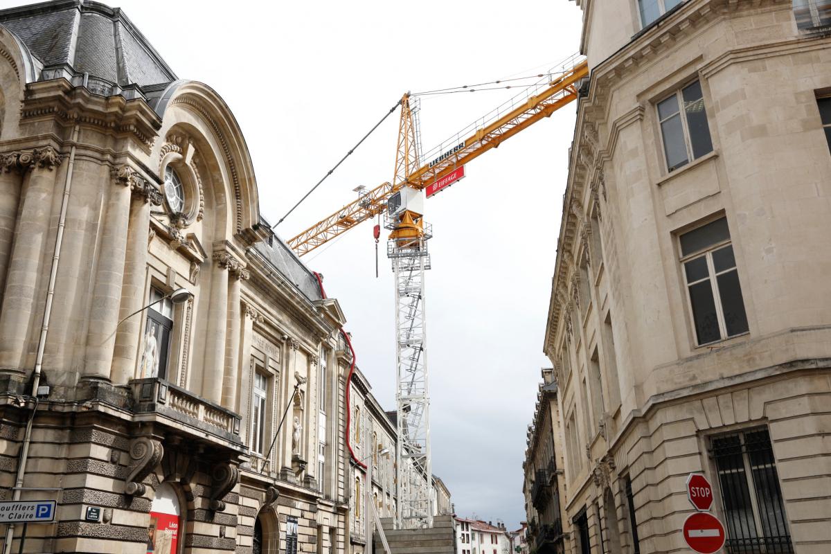 Le chantier du Musée Bonnat: que se passe-t-il derrière les palissades ?