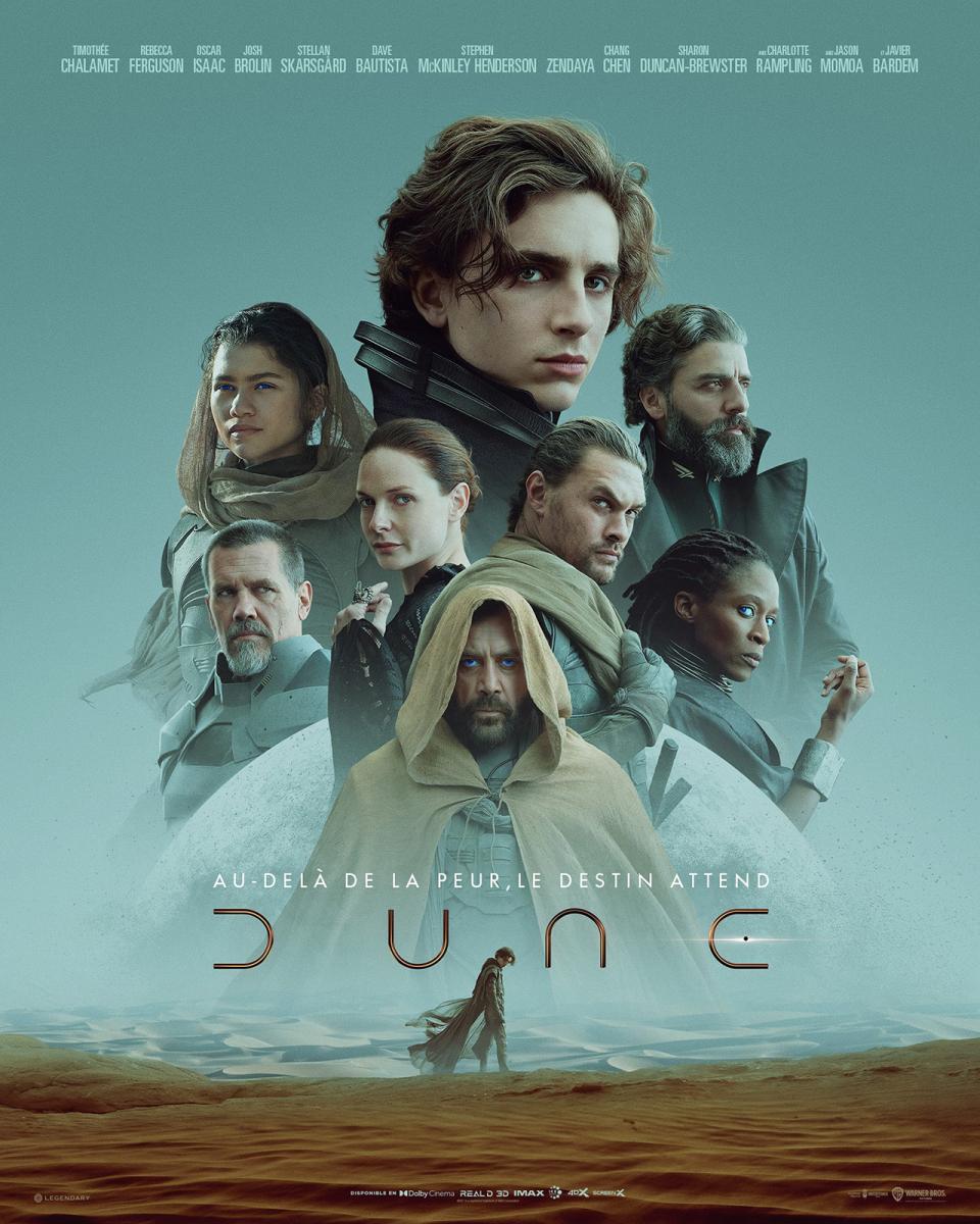 Dune (155') - Film américano-canadien de Denis Villeneuve