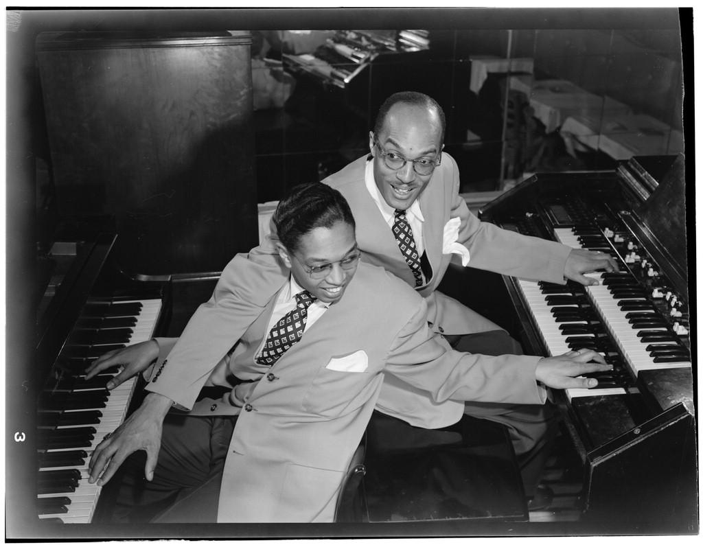 zMusique2 Billy Taylor et Bob Wyatt, New York, vers 1946 et 1948.jpg