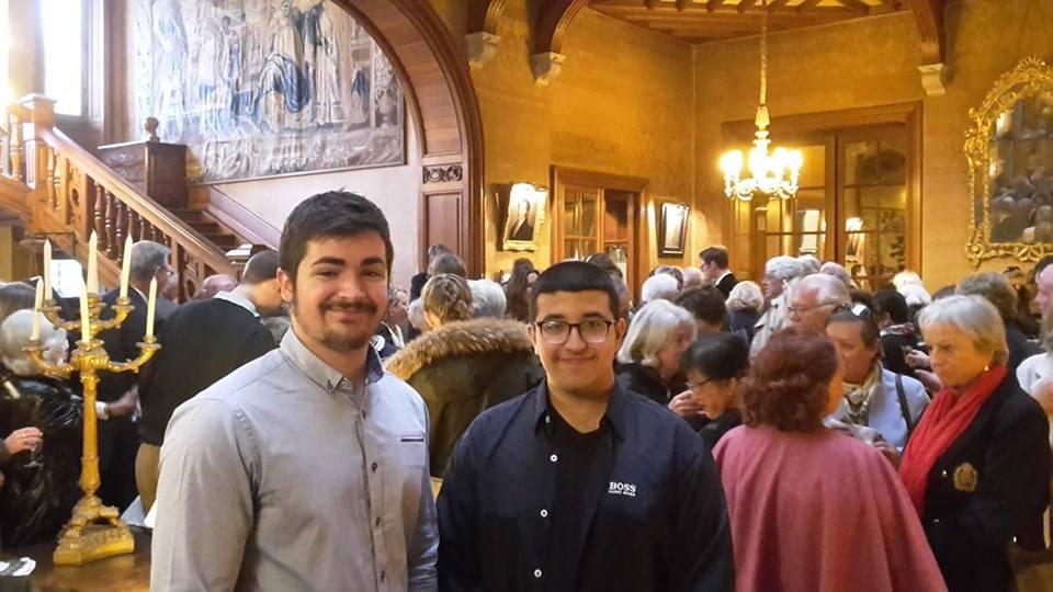 Antton et Rayan, deux jeunes écrivains au Prix des Trois Couronnes