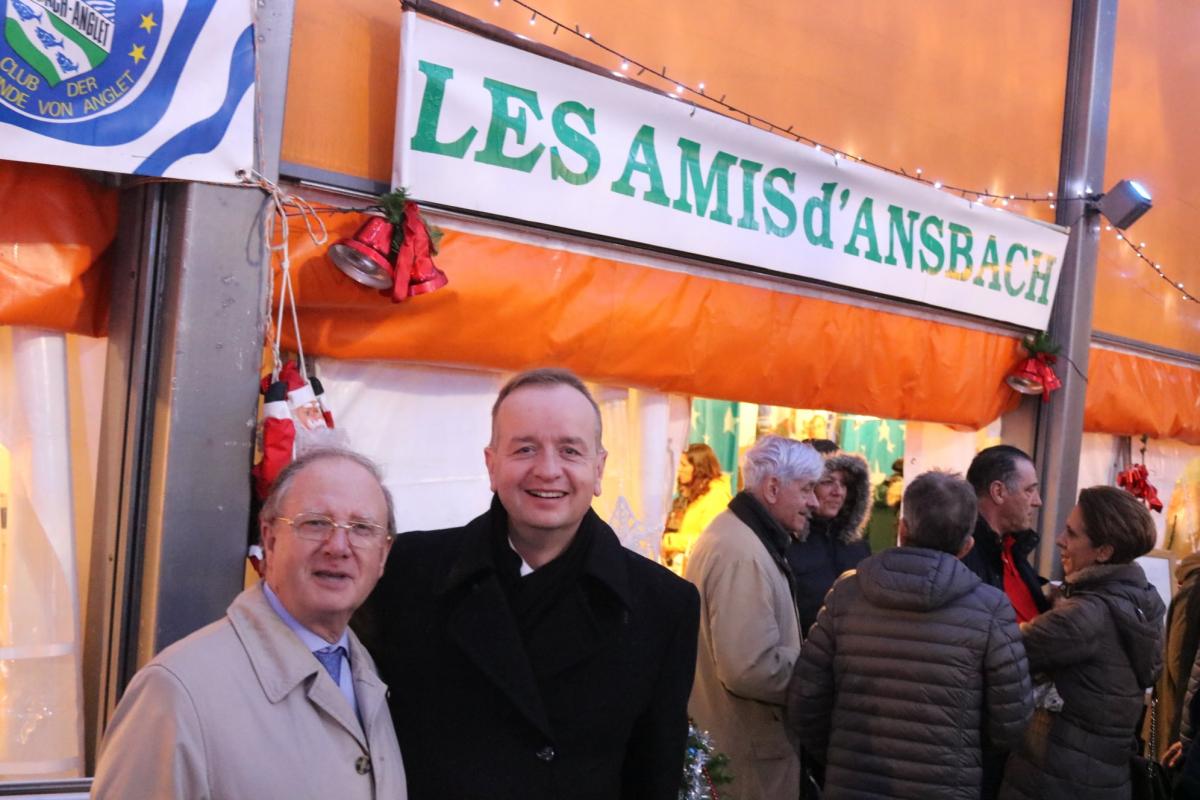 Sapins de Noël et Marché franco-allemand d'Anglet