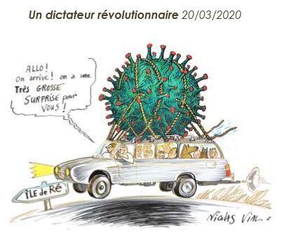 Guéthary : Quand Nicolas Vial surfe avec ses planches à dessins sur le Covid 19 !