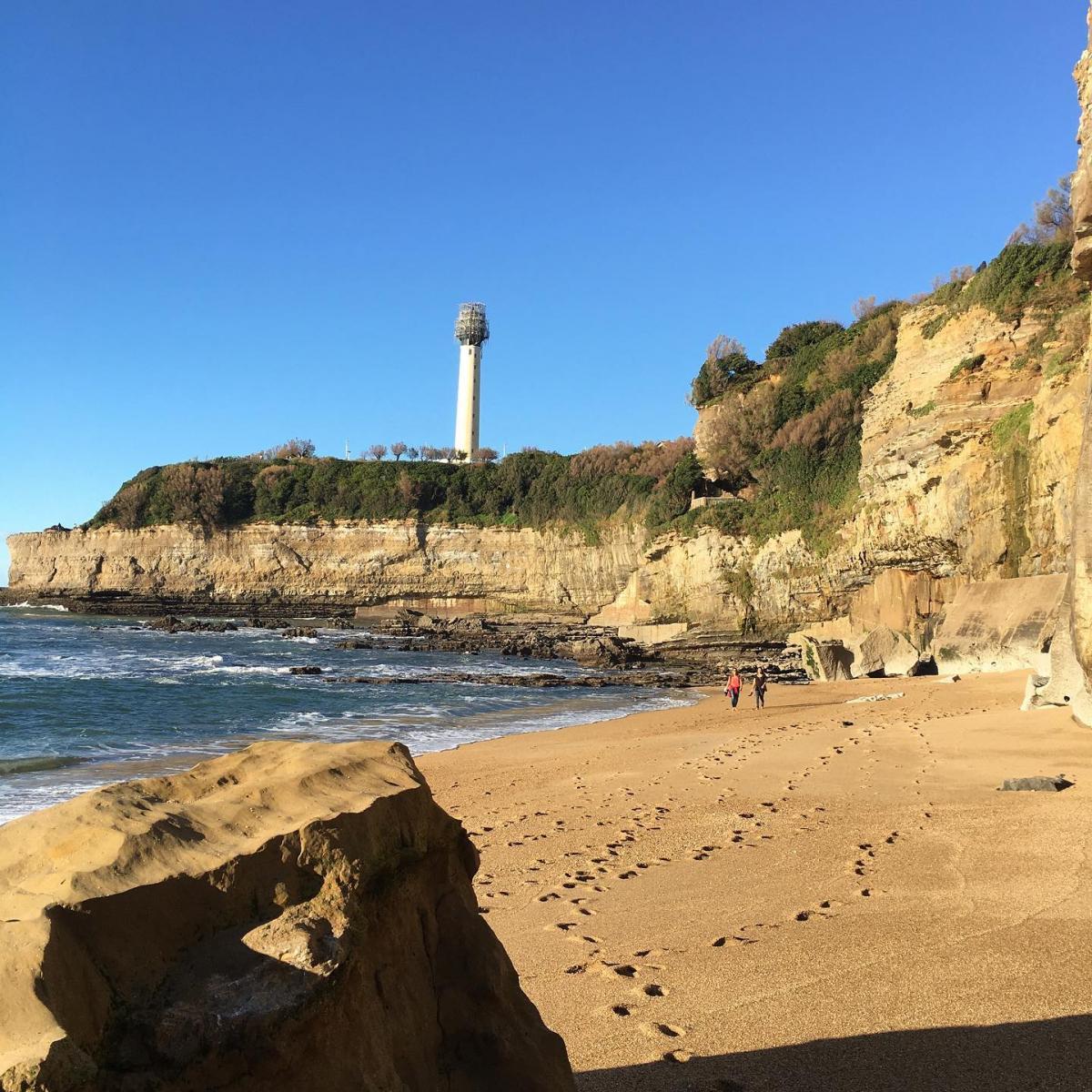 Biarritz/Anglet: le «toilettage» du phare s'est achevé
