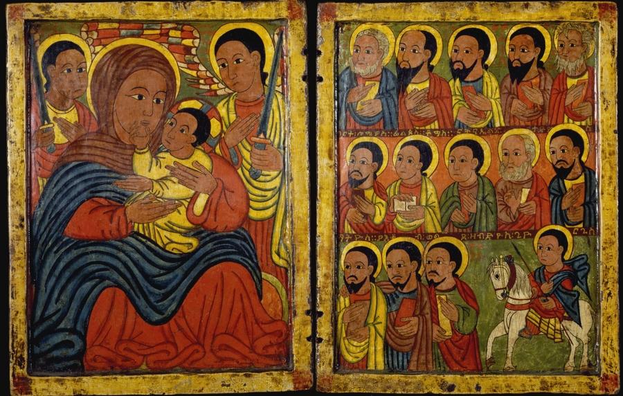 zTradition La Vierge à l'enfant avec Archanges et apôtres.jpg