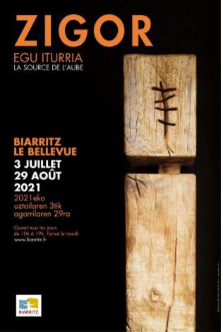 Biarritz : Zigor expose au Bellevue « Egu Iturria » ou la Source de l'Aube