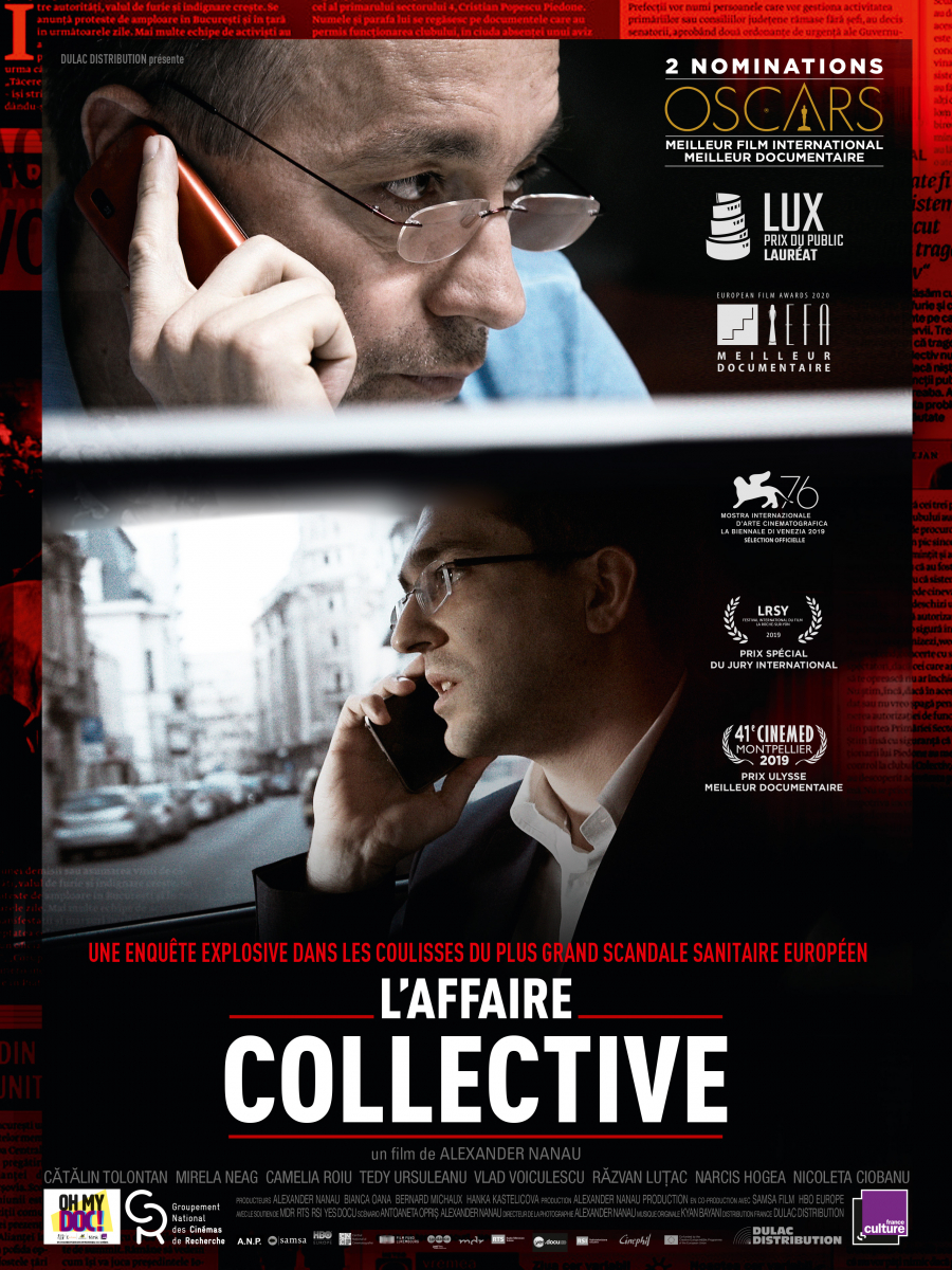 L'Affaire collective (109') - Film documentaire roumano-luxembourgeois d'Alexandre Nanau