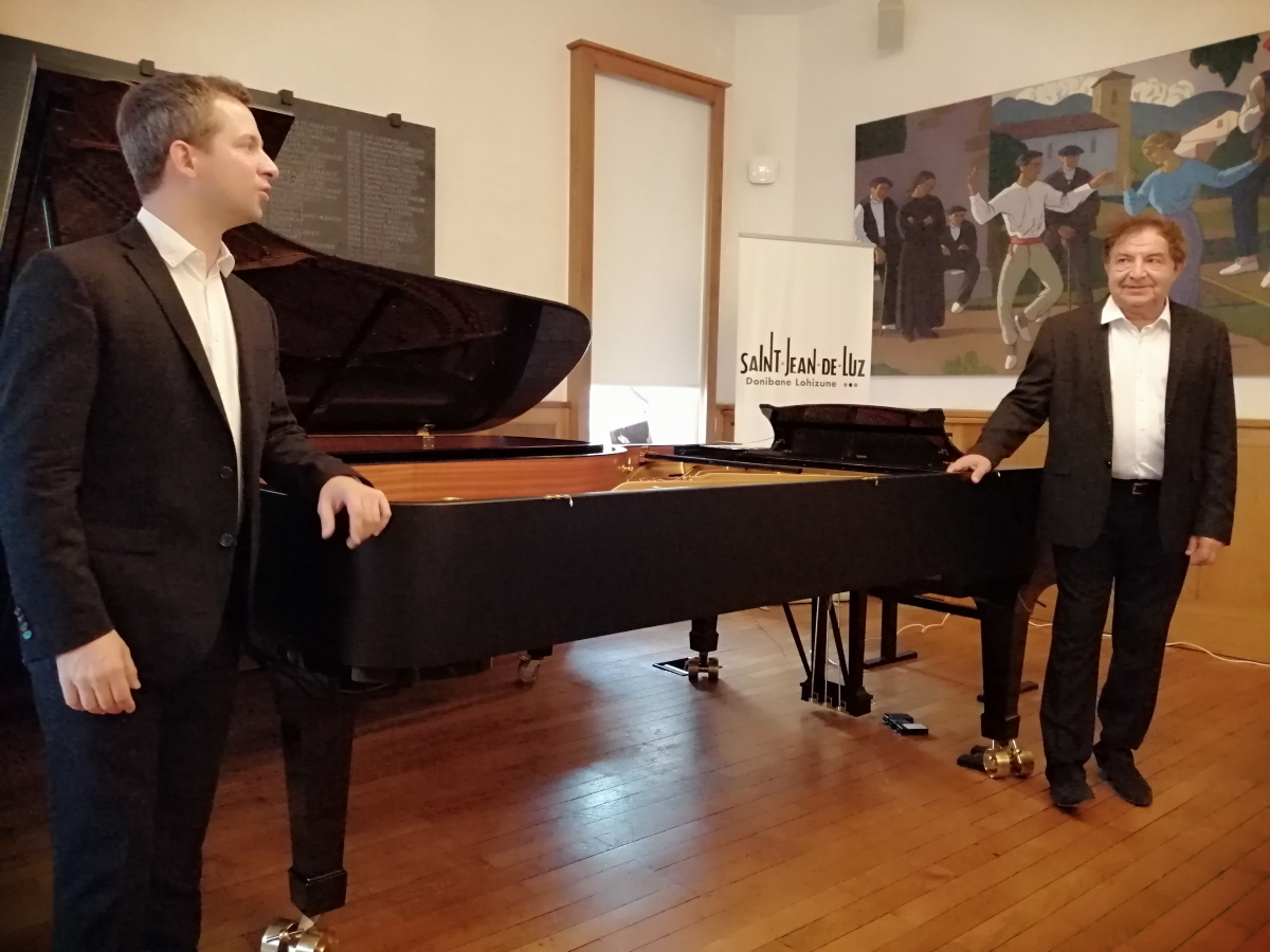 Festival Ravel : sous l'oeil de St Jacques et de Jacques Thibaud, J.-F. Heisser et B. Chamayou lancent le Festival