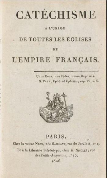 Le catéchisme impérial de Napoléon