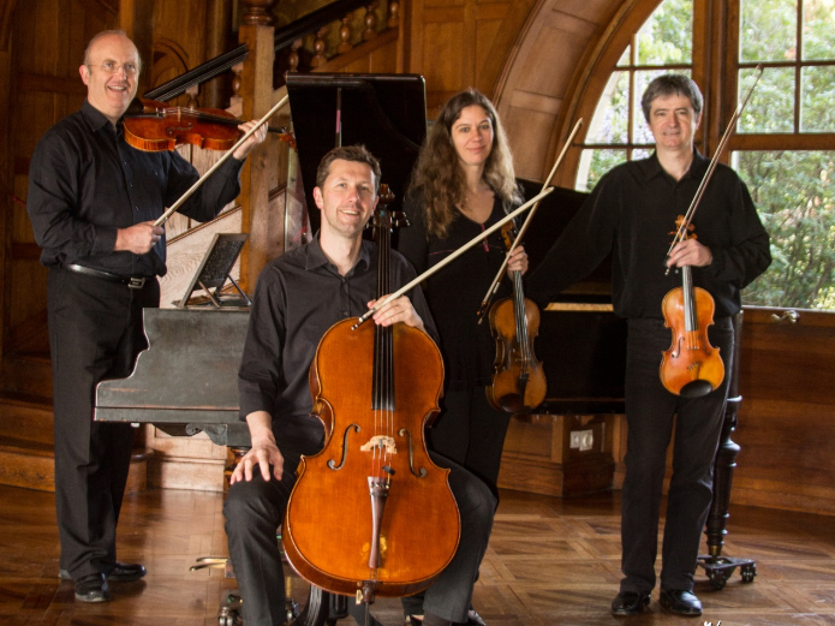 Cambo : le Quatuor Arnaga donnera un concert samedi 29 mai chez Edmond Rostand