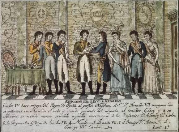Avril 1808: Napoléon s'établit à Bayonne