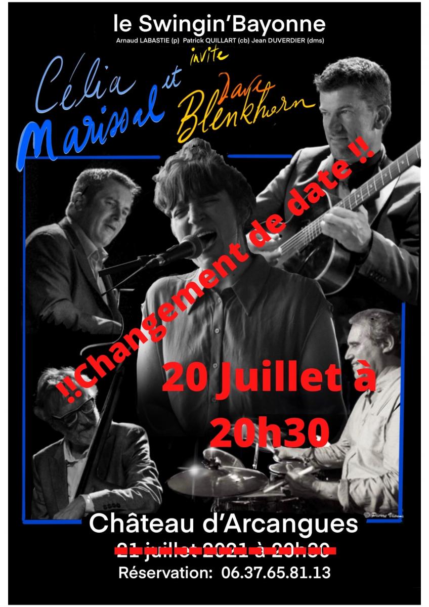 Soirée Jazz au château d'Arcangues avec «Swingin'Bayonne»