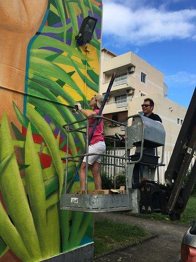 Hizelaya, entre « Street Art » et Monotypes !