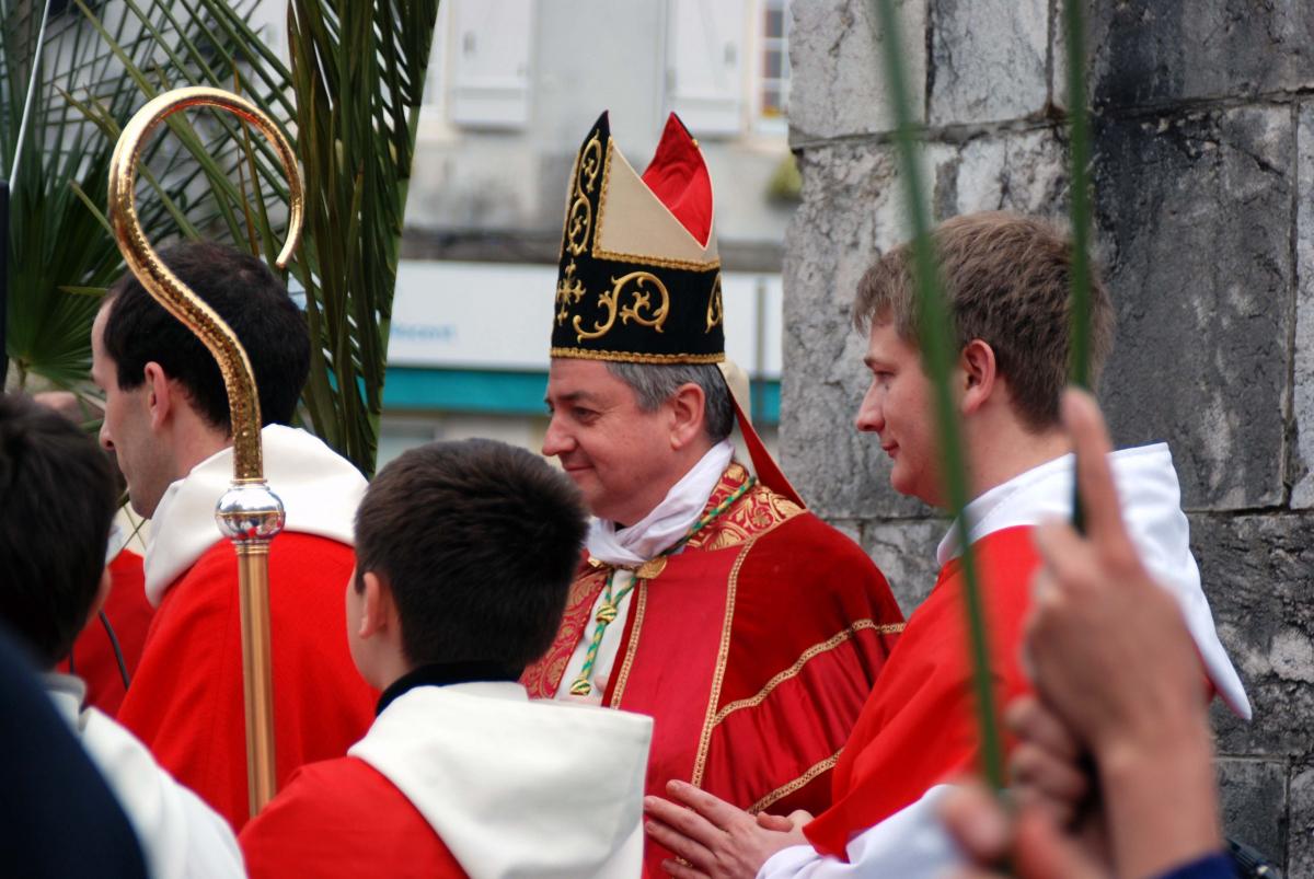 Message pascal de Mgr Aillet, évêque de Bayonne