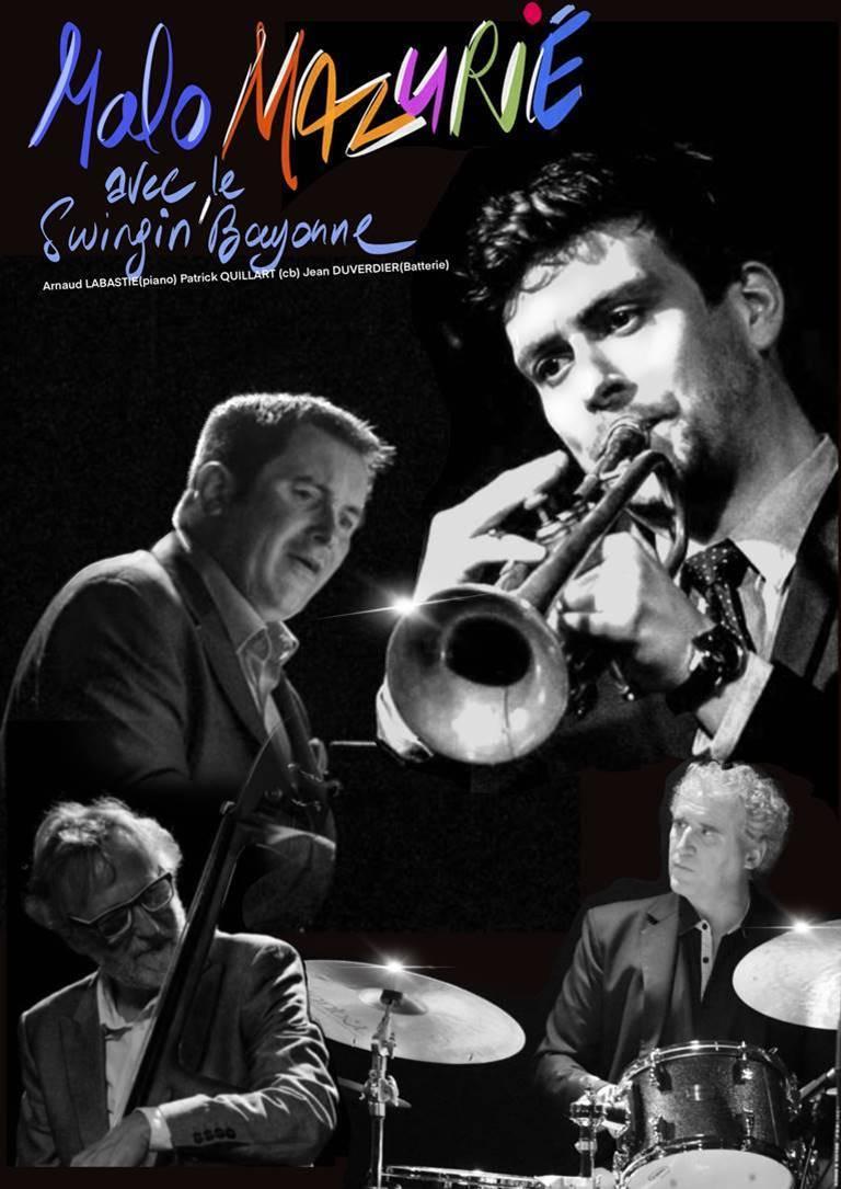 Jazz au Soleil des Antilles à Bidart: le trompettiste Malo Mazurié