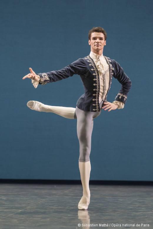 Le Dacquois Paul Marque, ancien élève biarrot, Danseur Etoile de l'Opéra de Paris