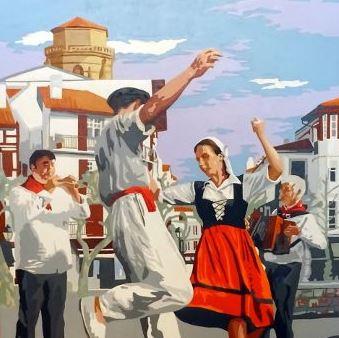 Danseurs basques par Eric Bourdon.JPG