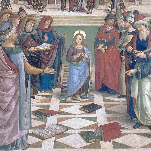 zTradition1 Le Christ parmi les docteurs de Bernardino di Betto détail.jpg