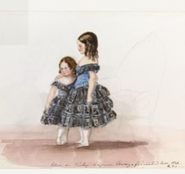 Les 2 soeurs par la reine Victoria.JPG