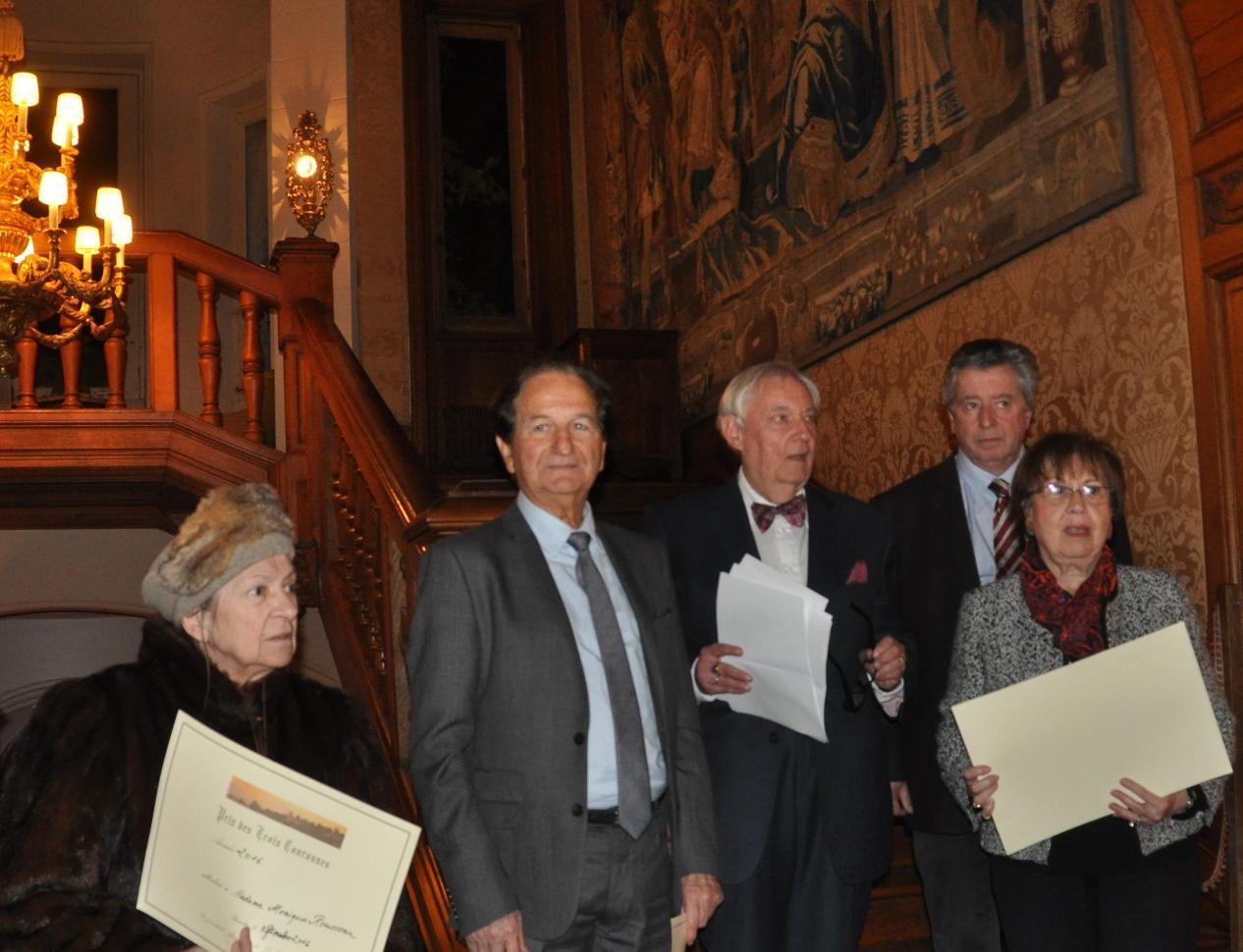 Remise du Prix Littéraire des Trois Couronnes à Arcangues