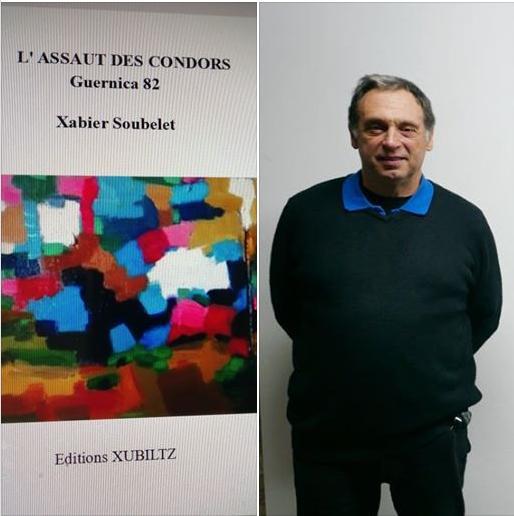 Peintre et romancier, Xabier Soubelet publie son nouveau roman