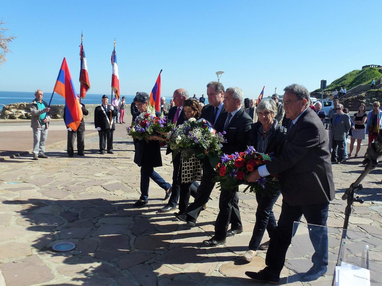 La mémoire du génocide arménien à Biarritz