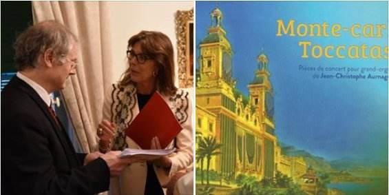 Monte-carl'Toccatas, nouveaux CD de l'organiste basque Jean-Christophe Aurnague
